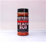 Heath Riles BBQ Peach Rub, 16oz