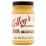 Kelley's Gourmet Stone Ground Mustard, 8oz