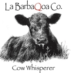 La BarbaQoa Cow Whisper, 12.5oz