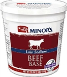 Minor's Low Sodium Beef Base, 16oz