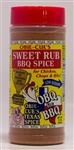 Obie-Cue's Sweet Rub, 12oz
