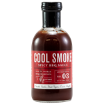 Tuffy Stone Cool Smoke Spicy BBQ Sauce, 18oz