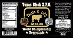 Pancho & Lefty Texas Black S.P.G. Rub, 12.3oz