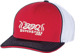 TheBBQSuperStore.com Red/White/Blue Hat (Fitted)
