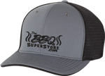 TheBBQSuperStore.com Grey/Black Hat Fitted