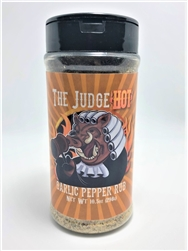 "The Judge ""Garlic Pepper Jalapeno BBQ Rub"" HOT, 10.5oz"
