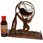 SuckleBusters Hot & Spicy BBQ Sauce, 12oz