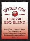 Wicked Que Classic BBQ Rub, 24oz