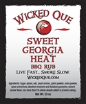 Wicked Que Sweet Georgia Heat, 24oz