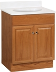 "24"" RICHMOND OAK VANITY COMBO"