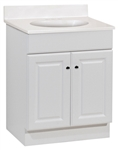 "24"" RICHMOND WHITE VANITY COMBO"