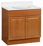 "30"" RICHMOND OAK VANITY COMBO"