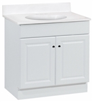 30x18 RICHMOND WHITE VANITY COMBO