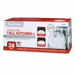 FLEX KITCHEN BAGS 13gallon ( 38 CT )