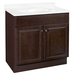 30x18 RICHMOND JAVA VANITY COMBO