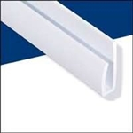 WALLTUF CAP WHITE 8' MOULDING