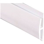 WALLTUF DIVIDER WHITE 8' MOULDING