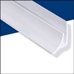 WALLTUF INSIDE CORNER WHITE 8' MOULDING