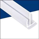 WALLTUF OUTSIDE CORNER WHITE 8' MOULDING