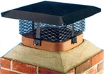 "CHIMNEY CAP ADJUSTABLE 8""x8"" to 13""x13"""