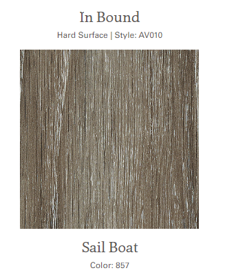 #857 Sail Boat Luxury Vinyl Floor 31.90 sq ft