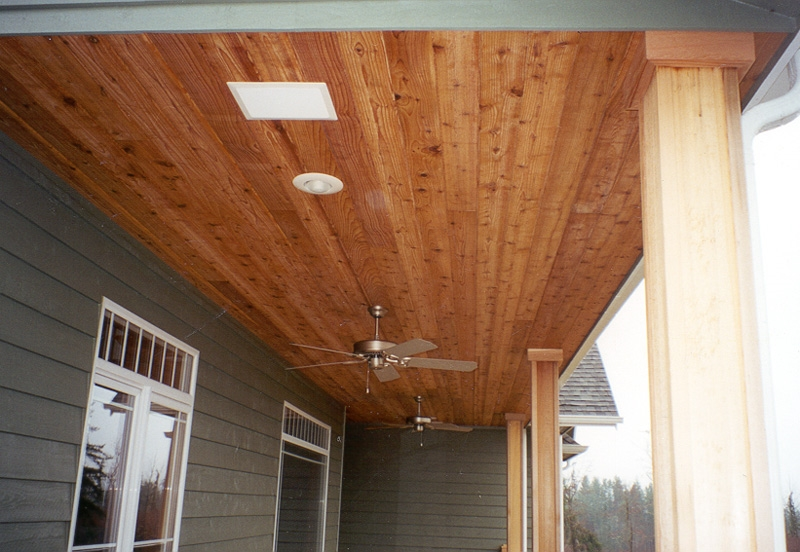 1x6x10 39 t g red cedar for T g roof decking