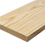 5/4x12x12' CLEAR SELECT PINE