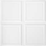 1201 RAISED PANEL WHITE 2x2 (6pcs) ARMSTRONG CEILING TILE #1201