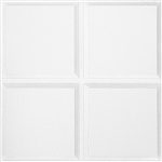 "1270 CASCADE CEILING TILE WHITE 24""x24"" (12PCS / 48 SQ. FT.) ARMSTRONG #1270"