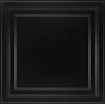 1282B SHALLOW COFFER BLACK 2'x2' (5 pcs) ARMSTRONG CEILING TILE #1280blbx