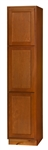 GLENWOOD BROOM CABINET 24x84x24D #24BRB