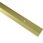 "CARPET BAR GOLD 1-3/8""x3'"
