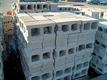 8x8x16 STAND HOLLOW CONCRETE BLOCK