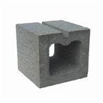 8 x 8 CONCRETE HOLLOW HALF BLOCK