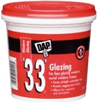 DAP GLAZING COMPOUND 1/2PT