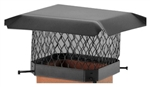 "SC99 CHIMNEY CAP 7-1/2""x7-1/2"" to 9-1/2""x9-1/2"""