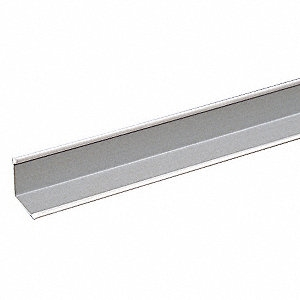 12' WHITE WALL ANGLE FIRE GUARD GRID ARMSTRONG