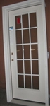 "#120 32"" 15 LITE INTERNAL GRILLE LEFT DOOR"