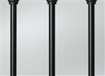 "DECKORATOR CLASSIC BALUSTER BLACK 26"" PKG of 10pc"