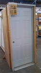 "70 36"" SIX PANEL PREHUNG FIRE DOOR LH"