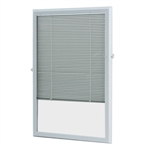 "DOOR LITE 684BL 22x36""MINI BLIND"