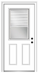 "BC684R 36"" LH MINI BLIND DOOR"