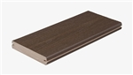 12' ESPRESSO GROOVED DECK BOARD BY FIBERON