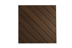 16' ESPRESSO GROOVED DECK BOARD BY FIBERON
