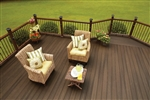 20' ESPRESSO GROOVED DECK BOARD BY FIBERON