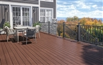 20' GROOVED DECK BOARD IN CANYON BY DECKORATORS