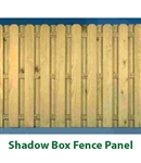 6'x8' PT BOARD ON BOARD FENCE