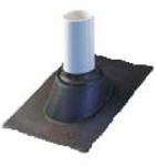 "ROOF PIPE FLASHING 4"" PLASTIC"