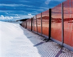 4x100 ORANGE SNOW FENCE