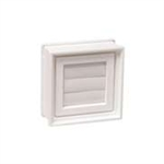 "8""x8"" GLASS BLOCK DRYER VENT"